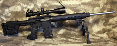 AR-10 Sniper Rifle DPMS LR-308 Build Picture