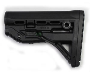 Mako GL-Shock Recoil-Compensating Collapsible Stock for M4 AR-15