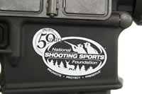 NSSF Etched Logo AR-10T