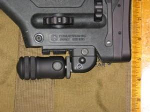 ACCU SHOT Precision Rail Monopod with Quick Knob for PRS AR15-AR10