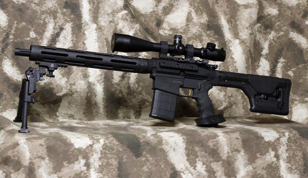 Tactical Sniper Rifle 18 Quot 308ar Com