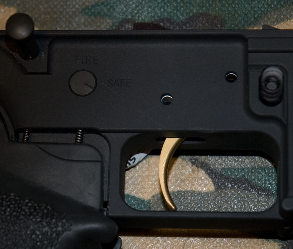 Build A Dpms 308 Ar10 Lower Receiver From Parts Step By Guide Click Here For An Exploded Diagram Fulton Armory Sr Gold Trigger