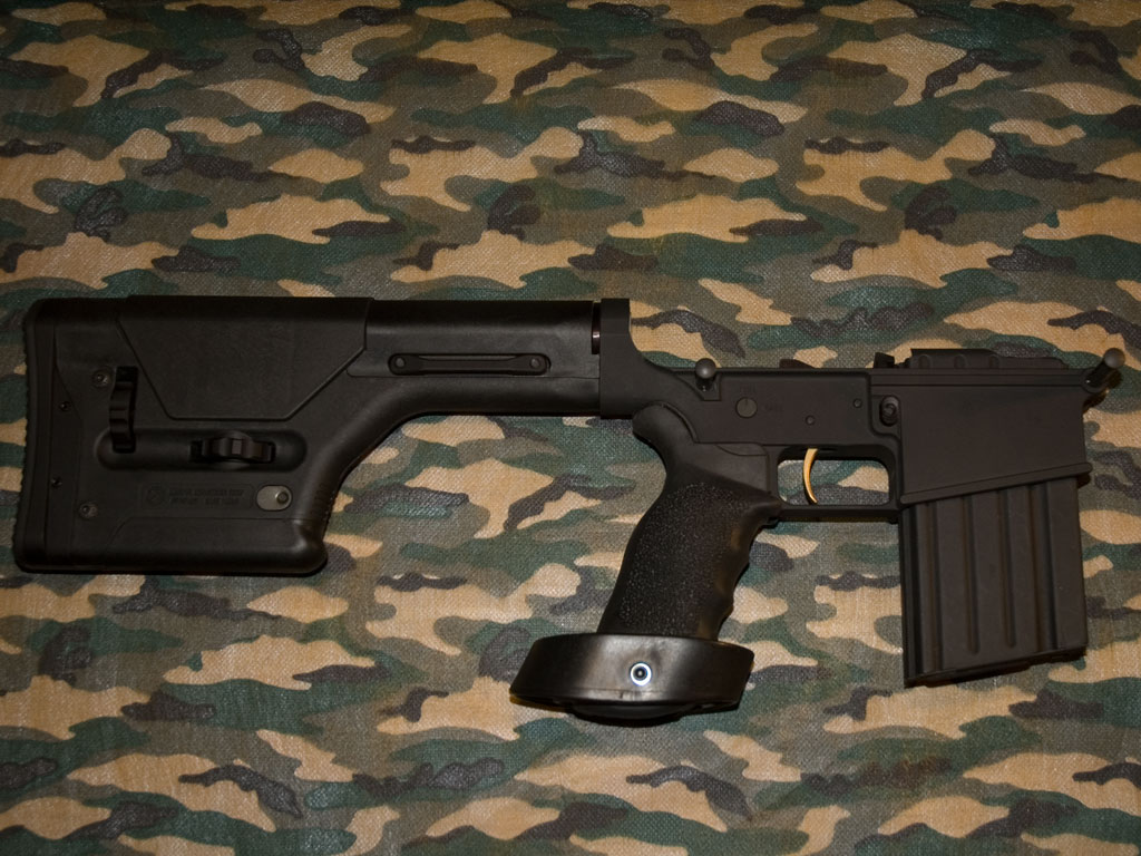 Picture of an Assembled DPMS AR 308 Lower Receiver