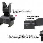 GG&G Spring Actuated Flip Up Front Sight 308AR.com
