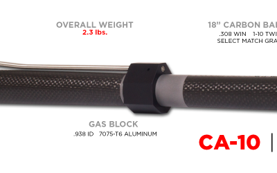 Christensen Arms Carbon Fiber Barrel