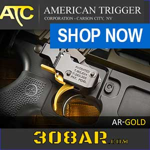 PACT American Trigger SR Gold AR 10 Trigger