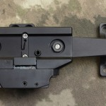 "308AR.com -Bottom View - BOBRO Precision Optic Mount 1"", Slightly Extended"