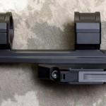 """308AR.com - Side View - BOBRO Precision Optic Mount 1"""", Slightly Extended"""
