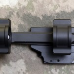 "308AR.com - Top View - BOBRO Precision Optic Mount 1"", Slightly Extended"