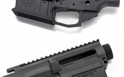 CMT 308 AR STRIPPED BILLET UPPER & LOWER RECEIVER SET