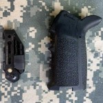 GERBER SHORT STACK AR15 GRIP TOOL with a MAGPUL MOE PISTOL GRIP