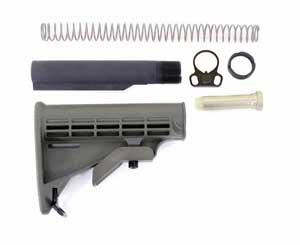 Armalite AR10 Buffer Dimensions- Armalite AR10 Carbine Stock Kit