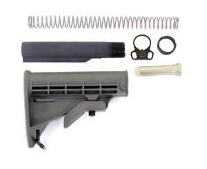 Armalite AR10 Buffer Dimensions- Armalite AR10 Carbine Stock Kit