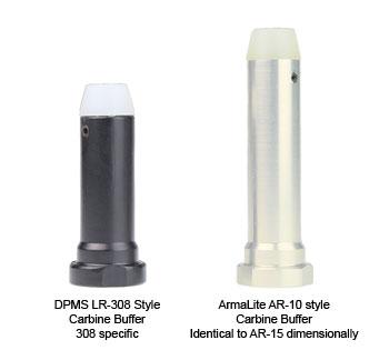 DPMS LR-308 308AR Carbine Buffer versus Armalite AR-10 Carbine Buffer