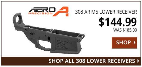 Aero Precision 308 AR M5 Lower Receiver www.308ar.com