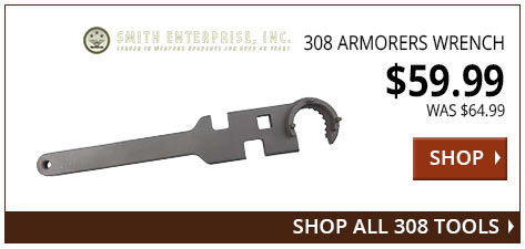 Smith Enterprise 308 Armorers Wrench www.308ar.com