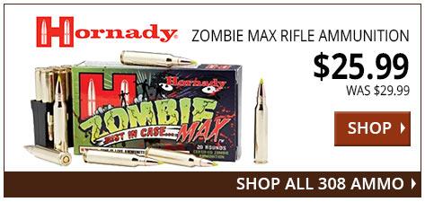 Hornady Zombie Max Rifle Ammo www.308ar.com