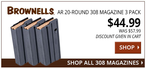 Brownells AR 20 ROund 308 Mags 3 pack www.308ar.com
