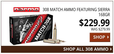 Norma 308 Match Ammo www.308ar.com