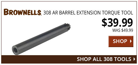 Brownells 308 AR Barrel Extension Torque Tool www.308ar.com