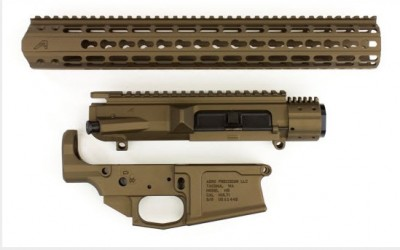 Aero Precision 308AR Burnt Bronze Builder Set