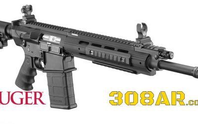 Ruger SR-762 | 308 AR | Semi Automatic Rifle | Ruger 762