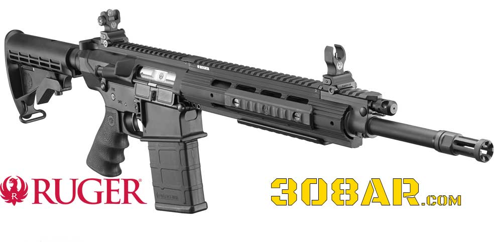 Ruger SR-762   308 AR   Semi Automatic Rifle   Ruger 762