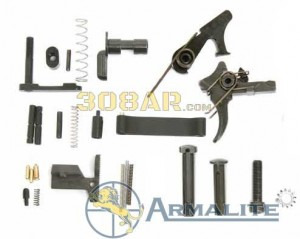Armalite AR-10 A Series Lower Parts Kit With National Match Trigger A10LRPK-N www.308ar.com