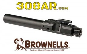 Brownells Branded 308AR Bolt Carrier Group www.308ar.com