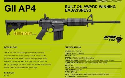 DPMS GII AP4 308AR RIFLE