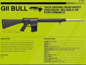 DPMS GII BULL 308AR AR308 AR-10