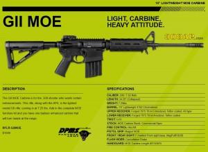 DPMS GII MOE 308AR AR308 AR-10