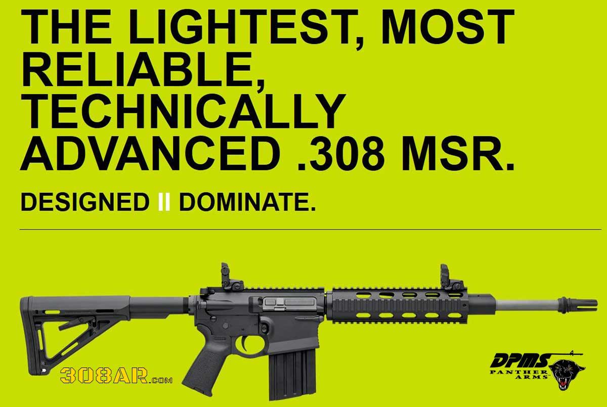 SMALL FRAME 308 AR   308 AR