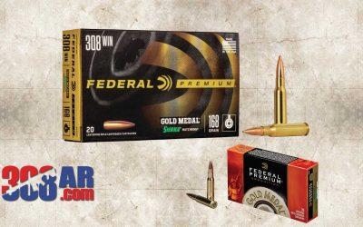 Federal Gold Medal Match 308 Winchester Match Ammunition