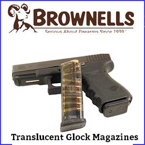 Translucent Glock Magazines