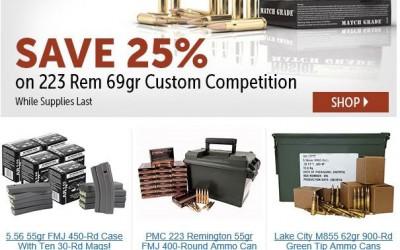 Cheap 223 AR15 Ammo Nosler