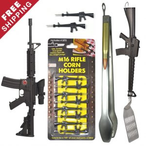 Grill Accessories For Shooters BBQ Tool Set