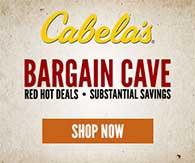 Cabelas Bargain Cave