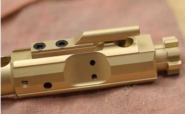 Picture of a 308 AR TITANIUM NITRIDE BOLT CARRIER GROUP
