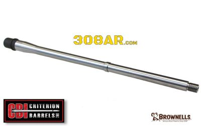 308 AR Barrels for Semi Automatic Rifles