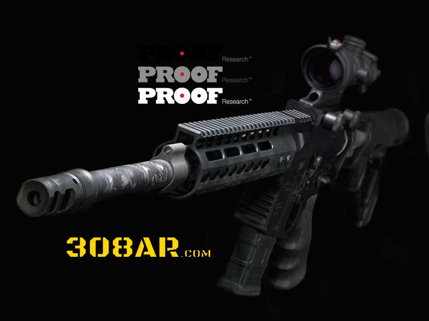 PROOF Research 308 AR Carbon Fiber Barrels