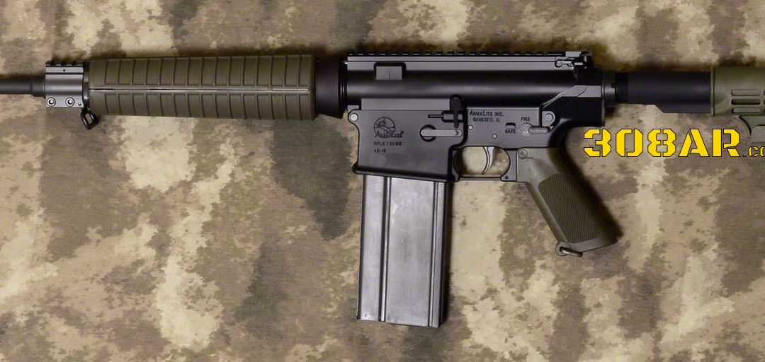 ARMALITE AR-10A4CF SEMI AUTO RIFLE   ARMALITE AR-10 A4