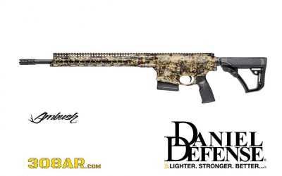 DANIEL DEFENSE AMBUSH 308 | KRYPTEK HIGHLANDER CAMO
