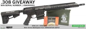 Click to enter Stag Arms 308 AR Giveaway