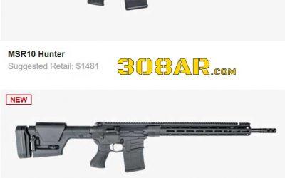 SAVAGE ARMS MSR RUMORS | AR 308 Savage Rifle