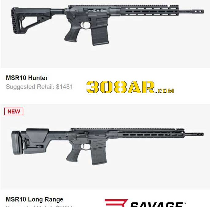 SAVAGE ARMS MSR RUMORS | AR 308 Savage Rifle