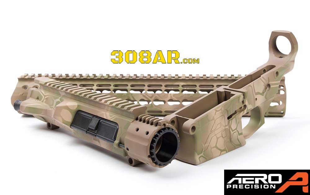 Aero Precision M5E1 Desert MAD Dragon 308 AR Builder Set