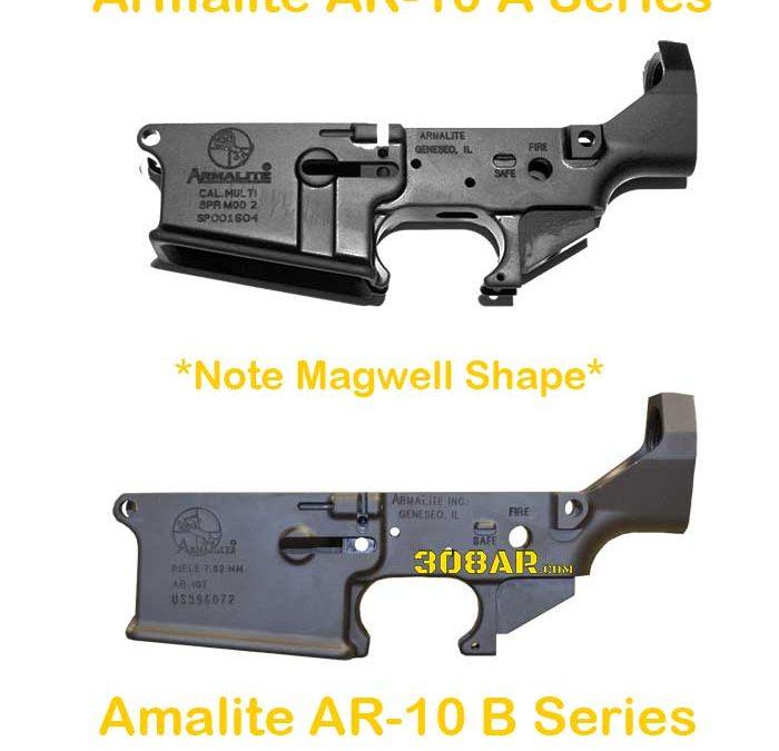 Official Armalite AR-10 Lower Receivers   AR-10A   AR-10B