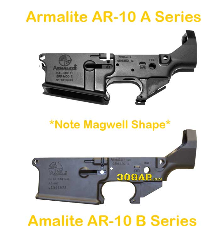 Official Armalite AR-10 Lower Receivers | AR10A vs AR10B