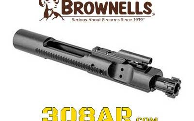 308 AR Bolt Carrier Group Nitride Coated Brownells